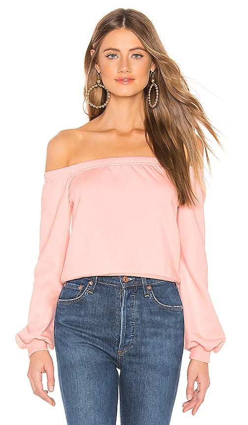 Bella Off Shoulder Sweatshirt