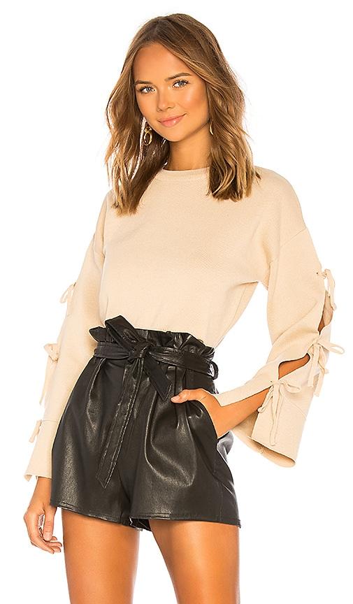 Michelle Tie Sleeve Sweater