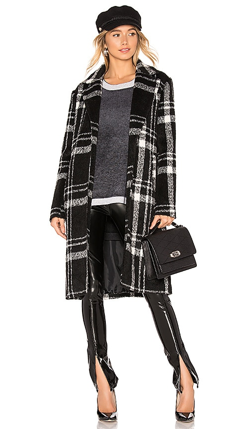Amanda Plaid Coat