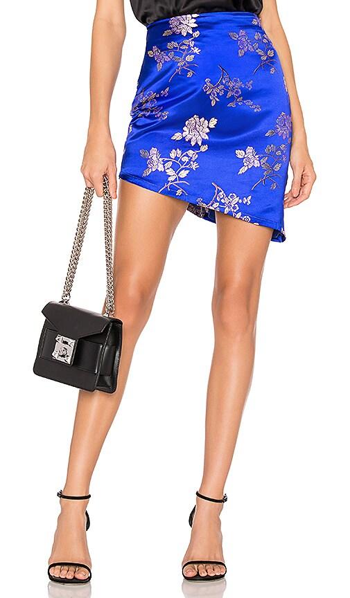 Elsa Asymmetrical Mini Skirt by About Us