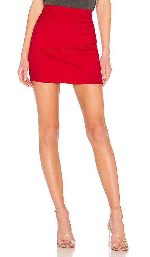 Solice Wrap Mini Skirt