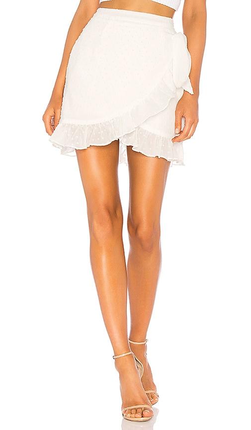 Maddie Ruffle Dot Tie Skirt
