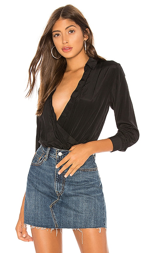 Presely Surplice Bodysuit