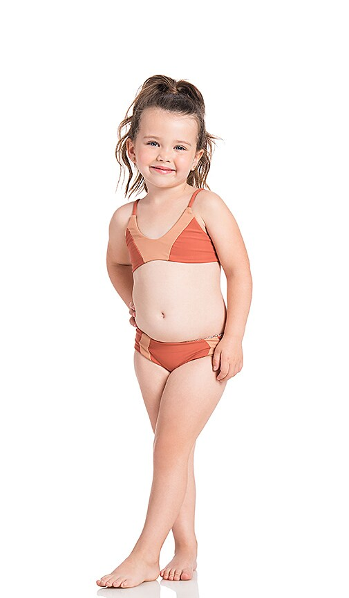 Acacia Swimwear Honey Pupukea Swimsuit Top in Pink