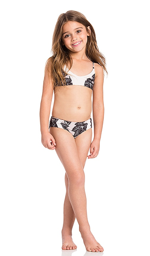 Acacia Swimwear Honey Pupukea & Mentawai Bikini Set in Beige