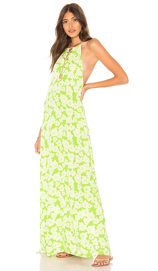 Acacia Swimwear Kohala Dress in Green
