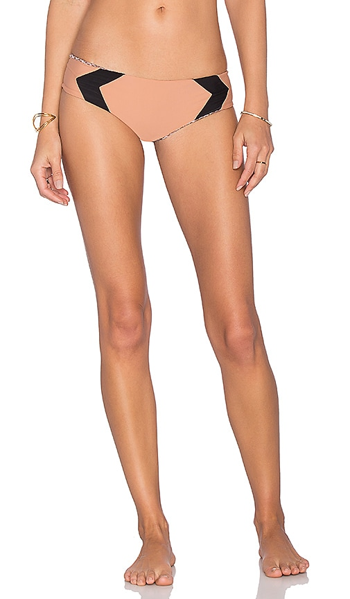 Acacia Swimwear Mentawai Bikini Bottom in Brown