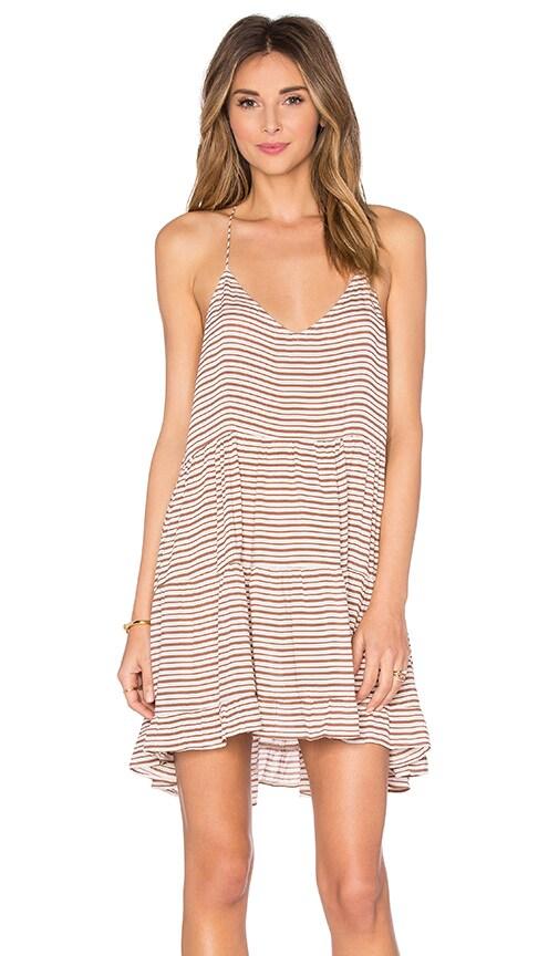 Acacia Swimwear Bahamas Mini Dress in Brown
