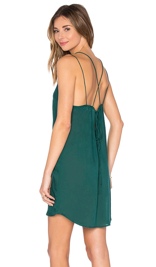 Acacia Swimwear Kama'aina Mini Dress in Green