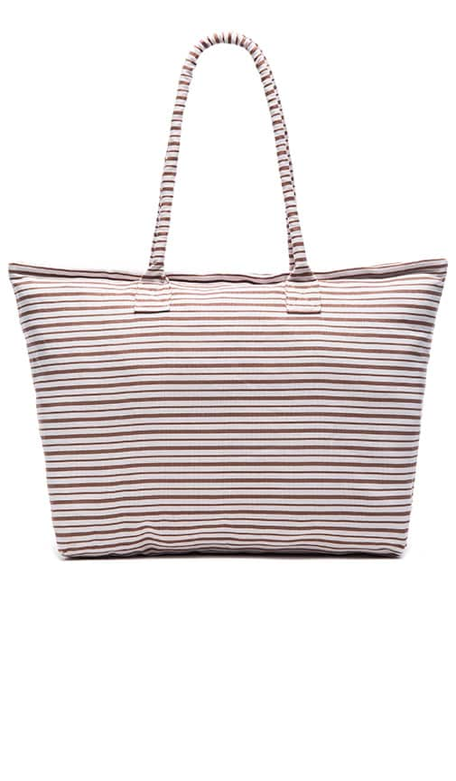 Acacia Swimwear Keanae Tote in Brown