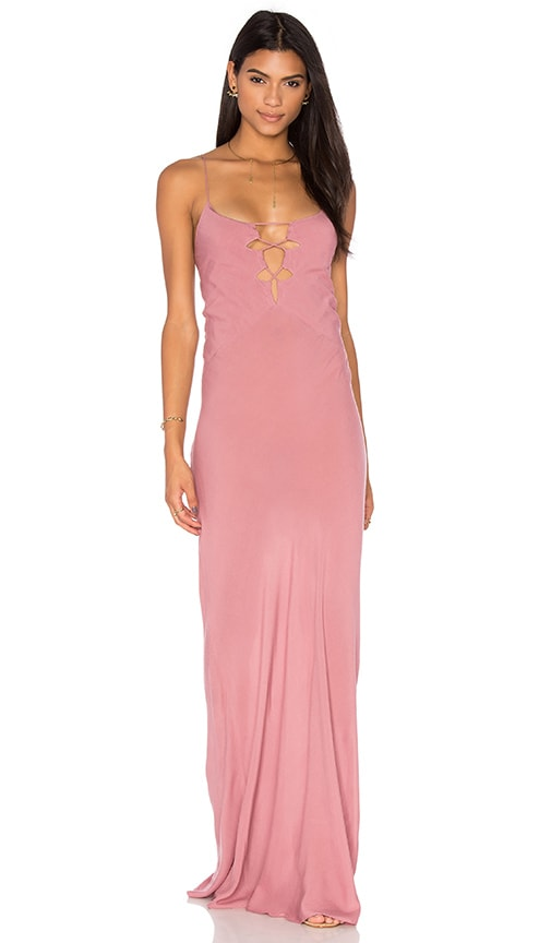 Acacia Swimwear Brawa Maxi Dress in Mauve