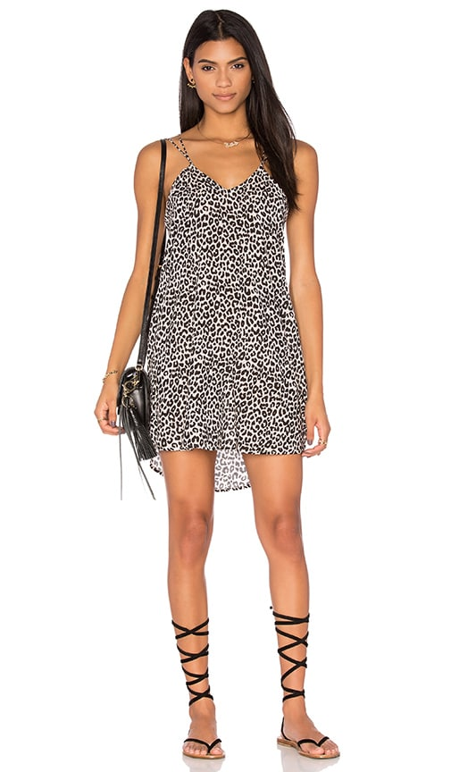 Acacia Swimwear Kama'aina Dress in Snow Leopard