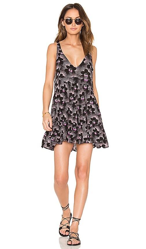 Acacia Swimwear Havana Mini Dress in Purple