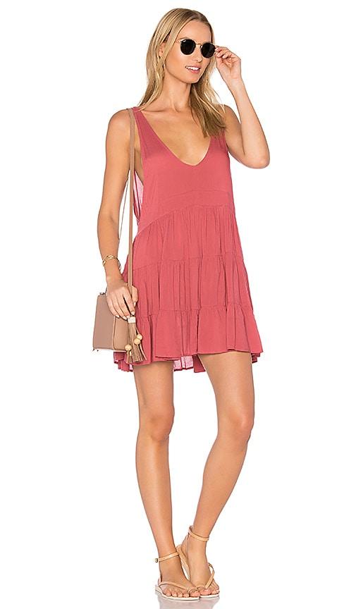 Acacia Swimwear Havana Dress in Pink