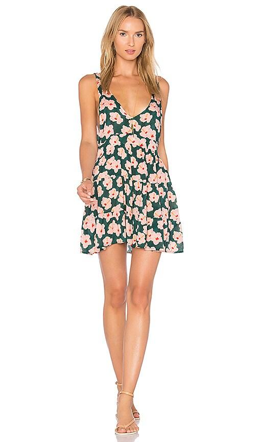 Acacia Swimwear Havana Dress in Green