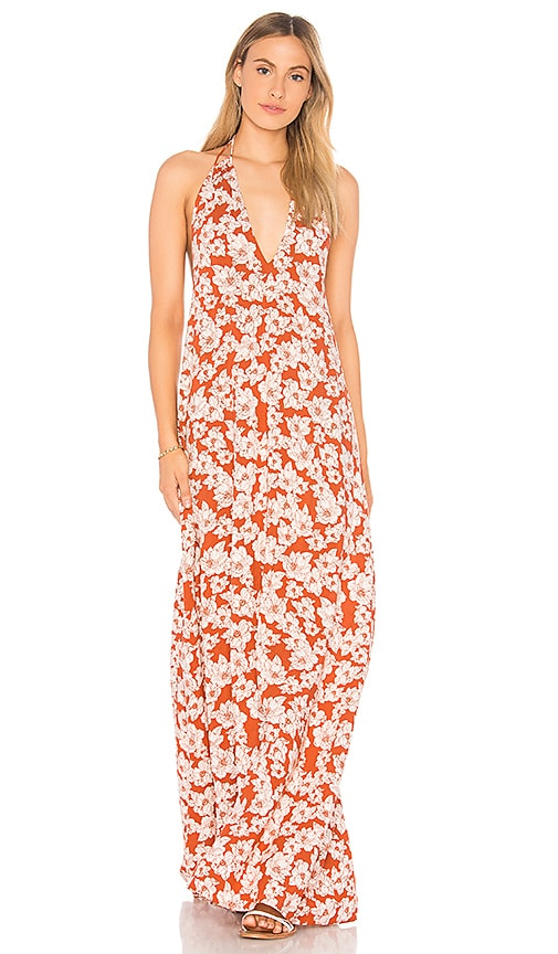 Acacia Swimwear X REVOLVE Samba Maxi Dress in Rust