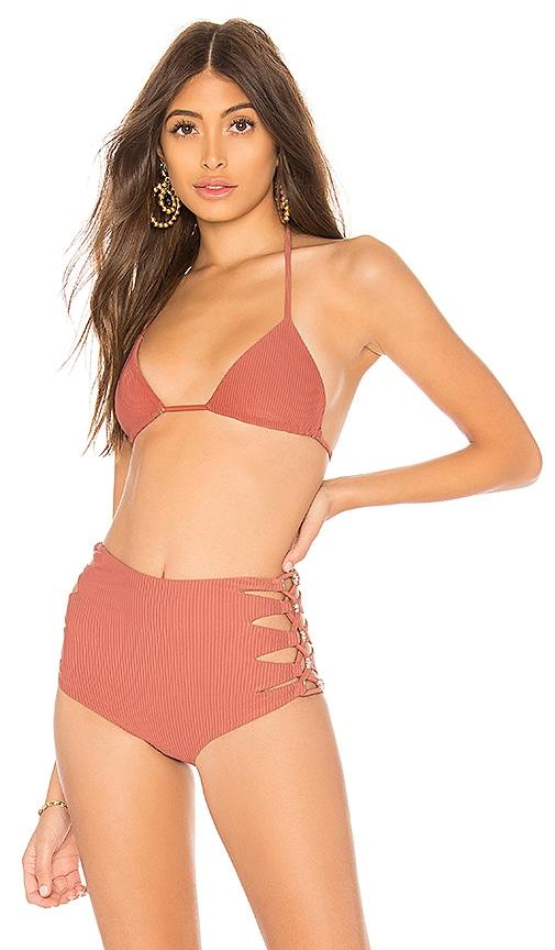 Acacia Swimwear Humuhumu Top in Rose