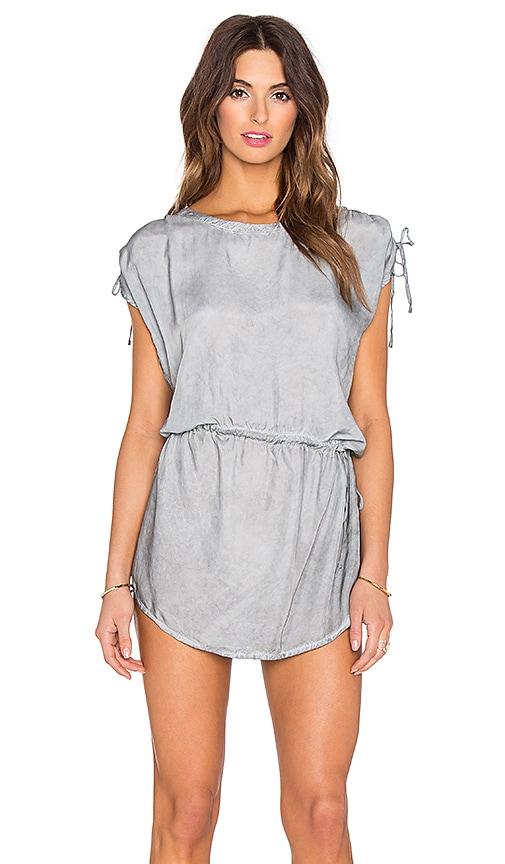 YFB CLOTHING Geneva Dress in Light Smoke