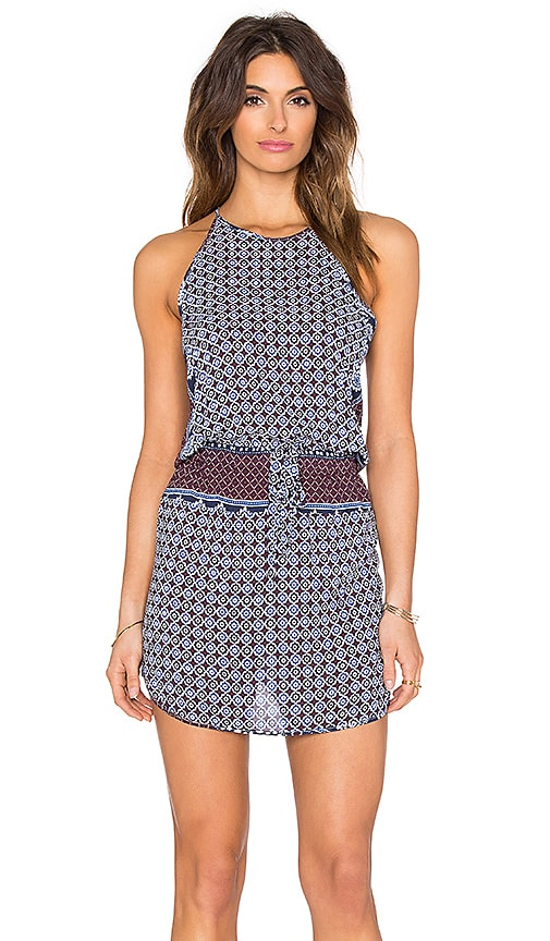 YFB CLOTHING Bella Dress in Blueberry