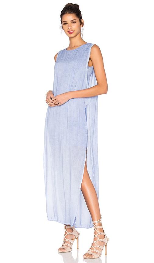YFB CLOTHING Nile Maxi Dress in Blue