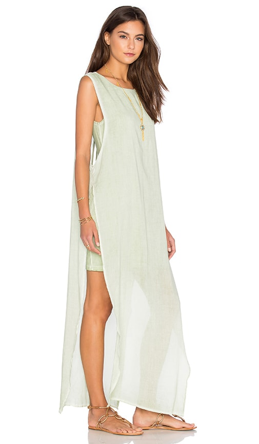 YFB CLOTHING Nile Maxi Dress in Green