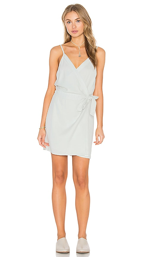 YFB CLOTHING Alberta Dress in Light Blue