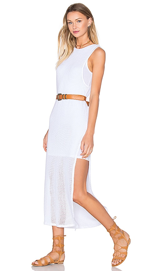 YFB CLOTHING Nile Maxi Dress in White