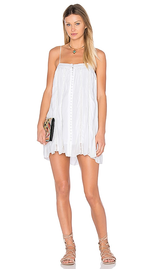 YFB CLOTHING Balta Dress in White