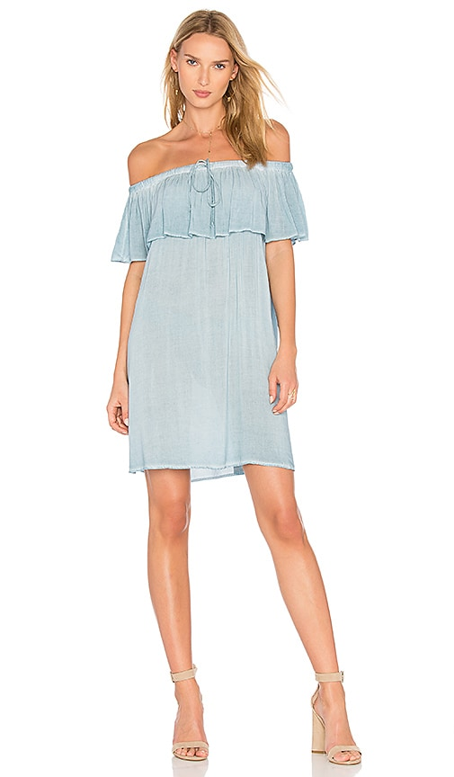 YFB CLOTHING Penelope Dress in Blue