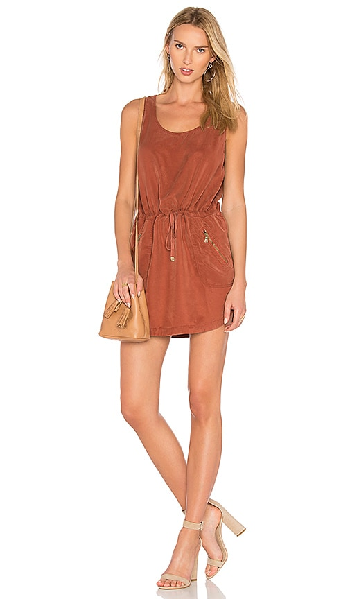 YFB CLOTHING Dime Dress in Red