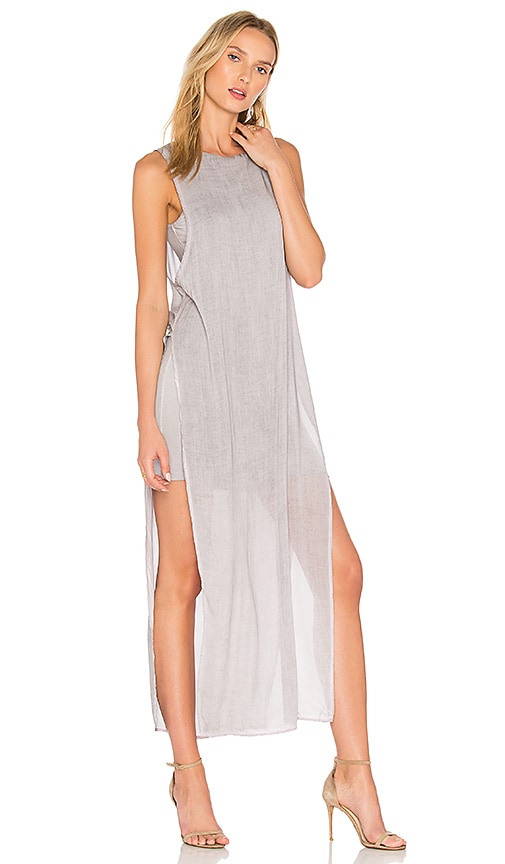 YFB CLOTHING Nile Dress in Gray