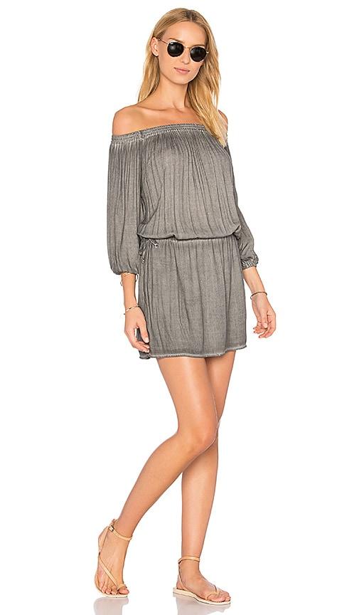 YFB CLOTHING Aletta Dress in Gray
