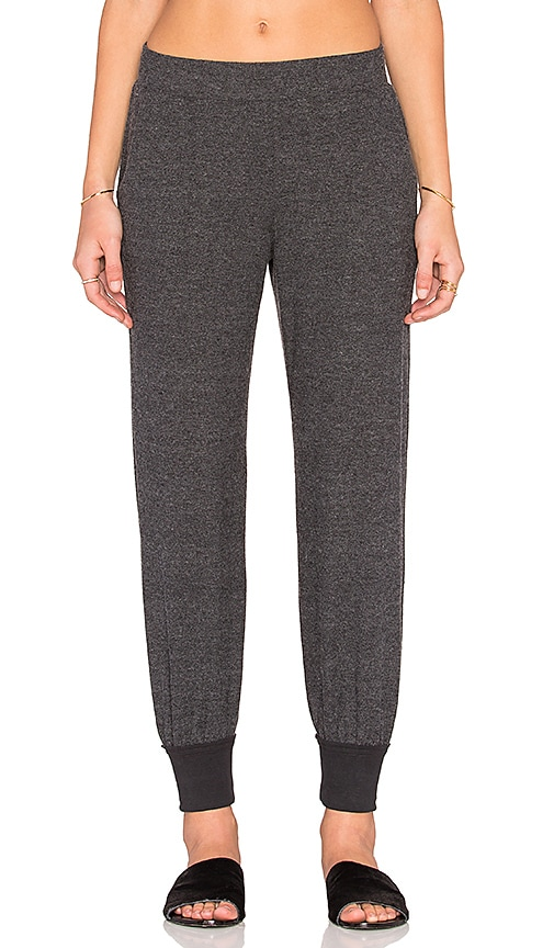 YFB CLOTHING Pasha Pant in Charcoal