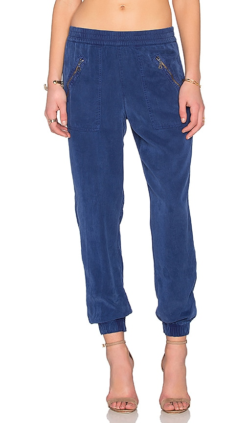 YFB CLOTHING Landry Pant in Blueberry