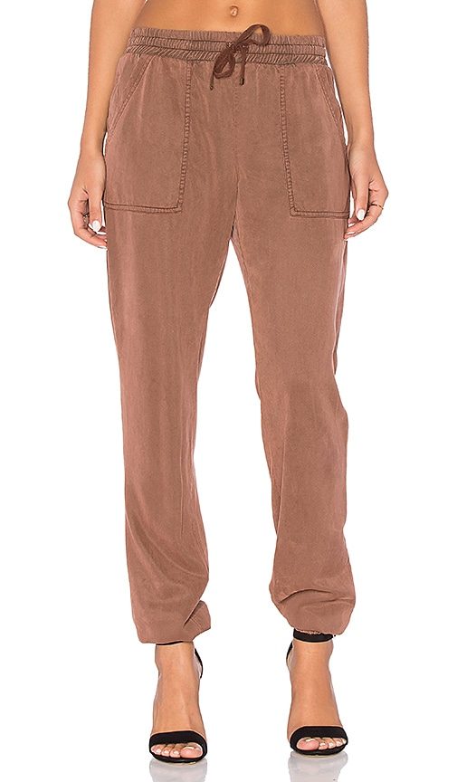YFB CLOTHING Orchid Pant in Brown