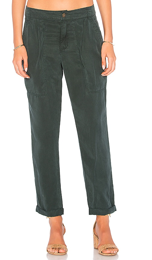 YFB CLOTHING Yacht Pant in Green