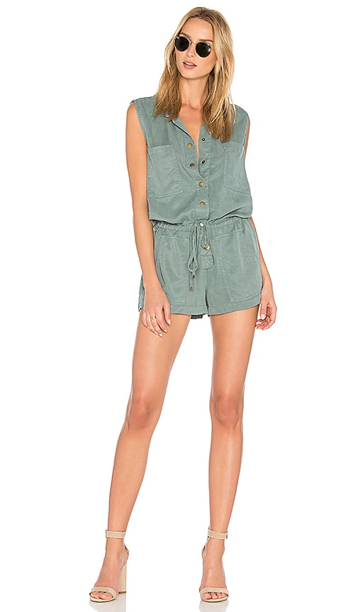 YFB CLOTHING Erwin Romper in Blue