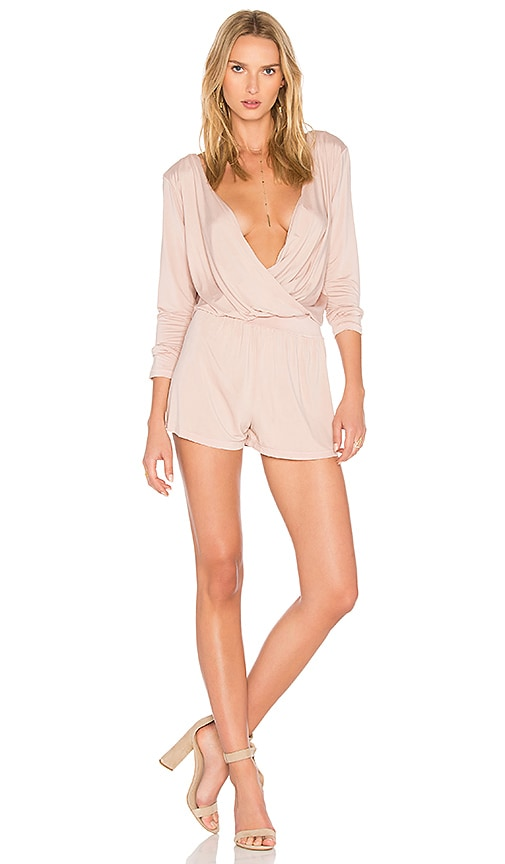 YFB CLOTHING Blair Romper in Pink