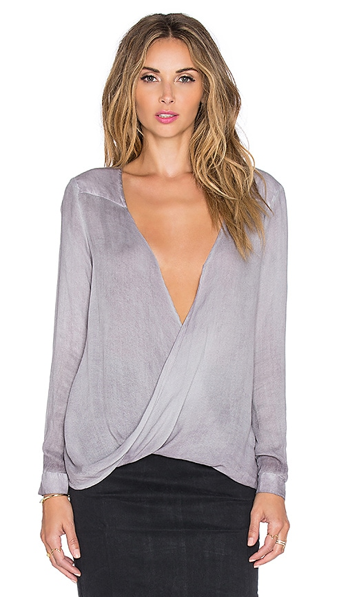 YFB CLOTHING Fawnie Top in Eggplant