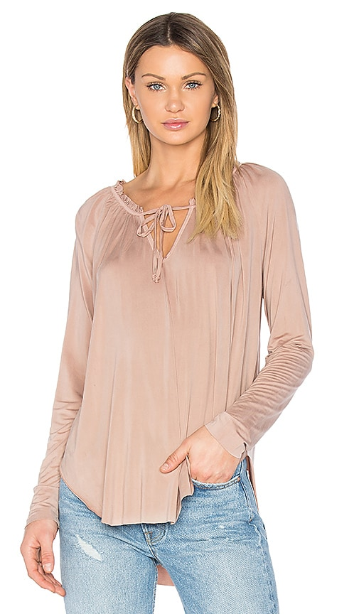 YFB CLOTHING Annette Top in Tan