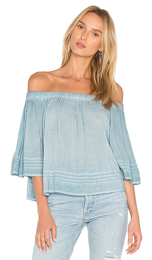 YFB CLOTHING Perris Top in Blue