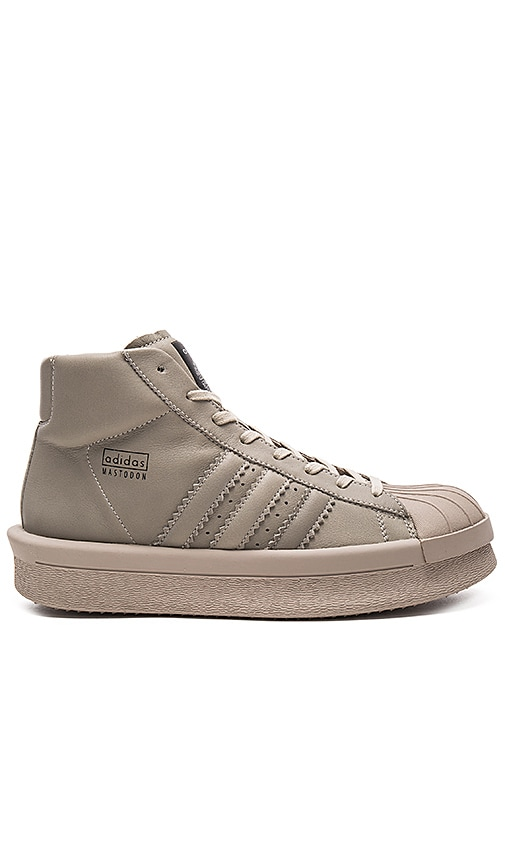 adidas by Rick Owens Pro Model Sneakers in Taupe