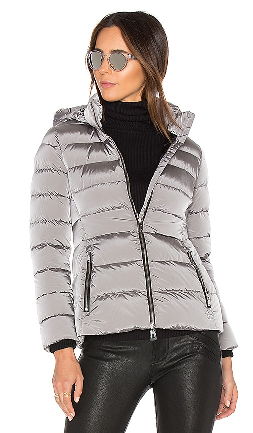 ADD Down Jacket in Titanium | REVOLVE