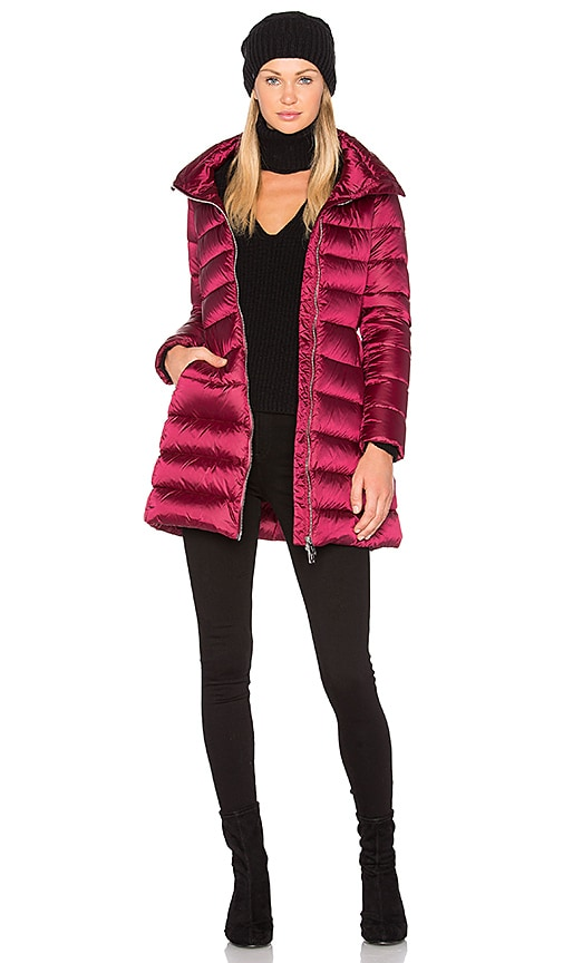 33b8542b52d ADD Down Coat in Bordeaux | REVOLVE