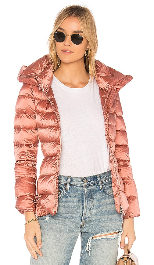ADD Down Jacket in Red