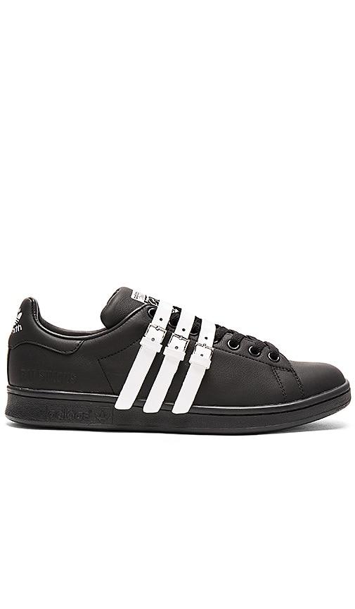 a35b93ab638 adidas by Raf Simons Stan Smith Strap in Core Black   Vintage White ...