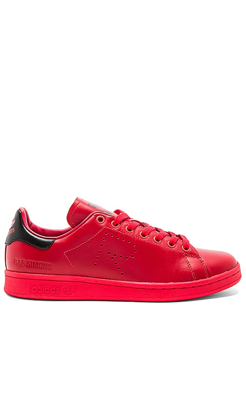 adidas adidas adidas by Raf Simons RS Stan Smith Lace Up in Tomato Noir c62536