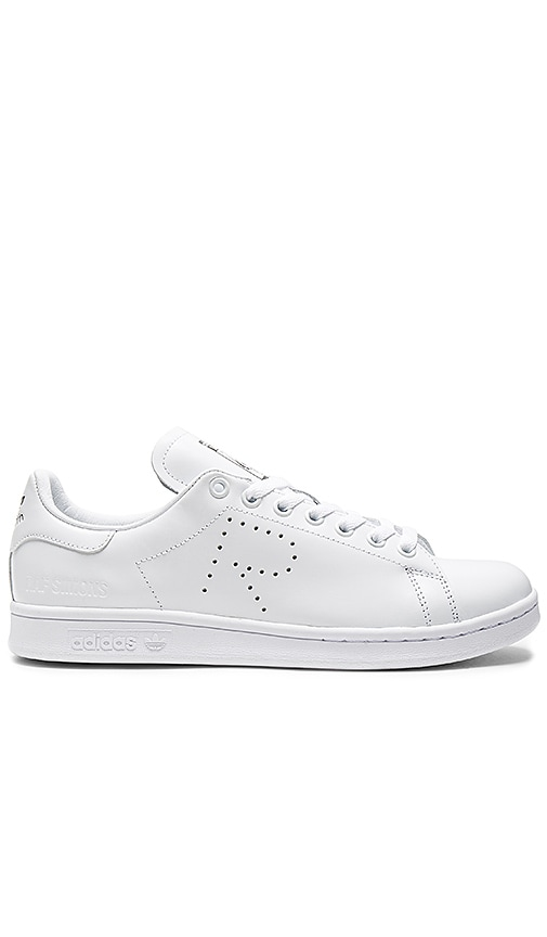 adidas by Raf Simons BASKETS LACÉES RS STAN SMITH Blanc
