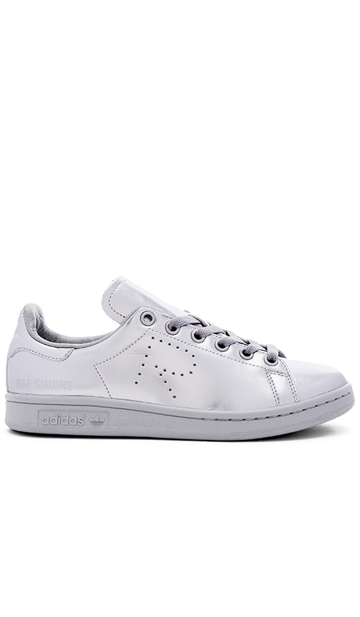 adidas by Raf Simons Stan Smith Sneaker in Silver Metallic
