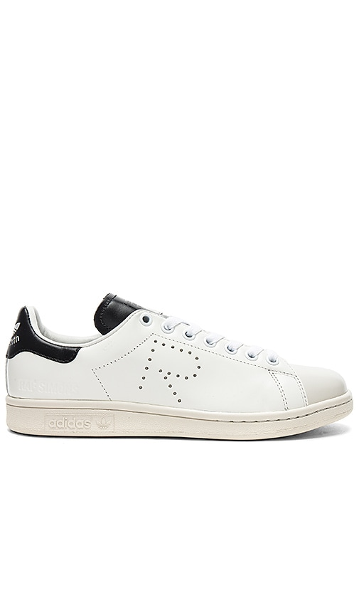 brand new running shoes skate shoes adidas by Raf Simons Stan Smith Sneakers in Optic White & Core ...